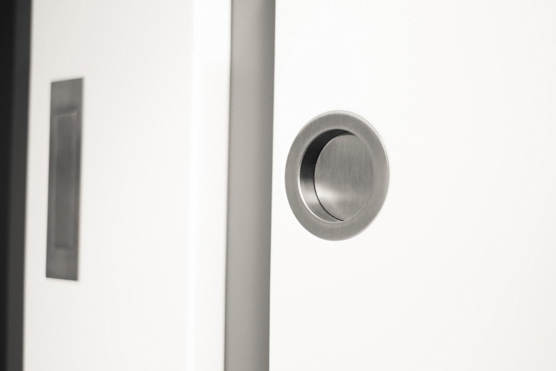 Schiebetür in der wand laufend ohne zarge  Schiebetüren | Wolgast Türen